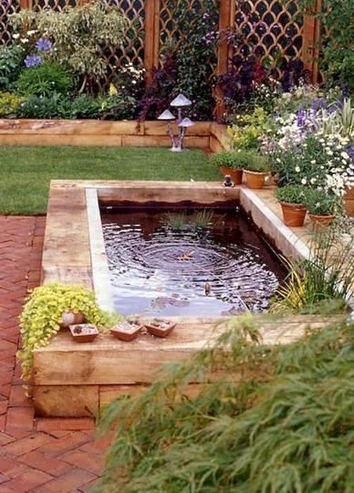 46 beautiful fish pond ideas (9)