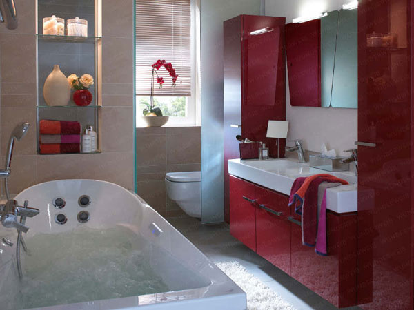 50 small and functional bathroom designs (18)