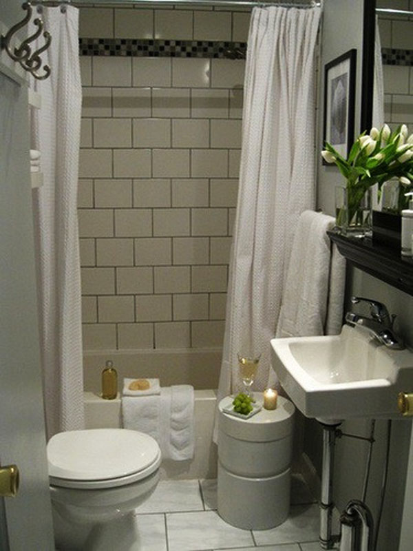 50 small and functional bathroom designs (21)