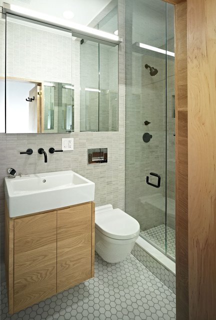 50 small and functional bathroom designs (24)
