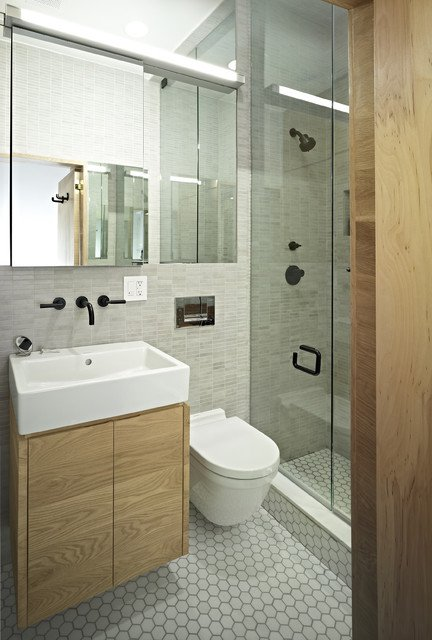 50 small and functional bathroom designs (35)