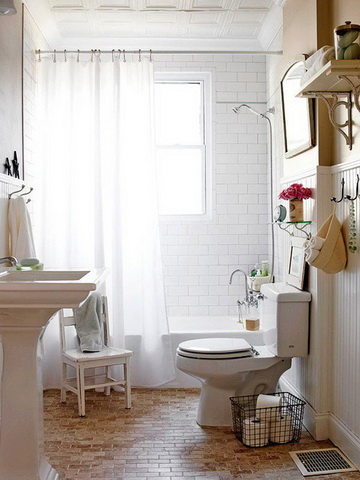 50 small and functional bathroom designs (5)