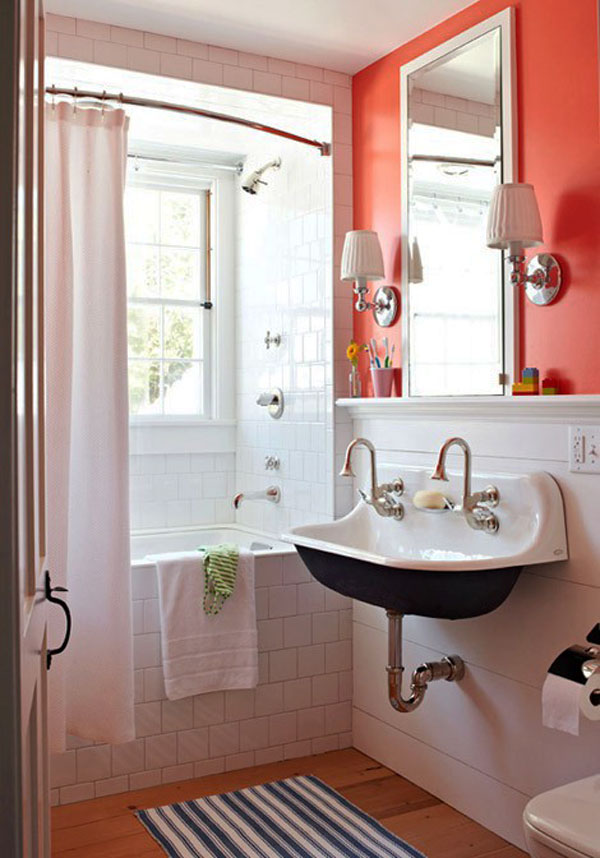 50 small and functional bathroom designs (6)