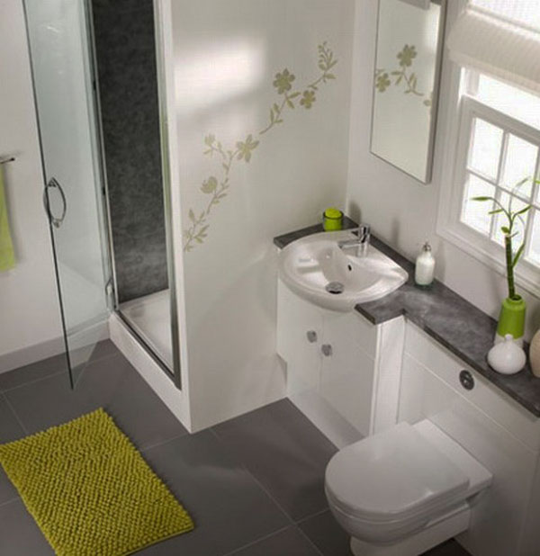 50 small and functional bathroom designs (7)