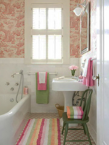 50 small and functional bathroom designs (8)