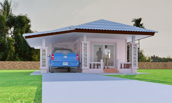 500k eco house plan (2)