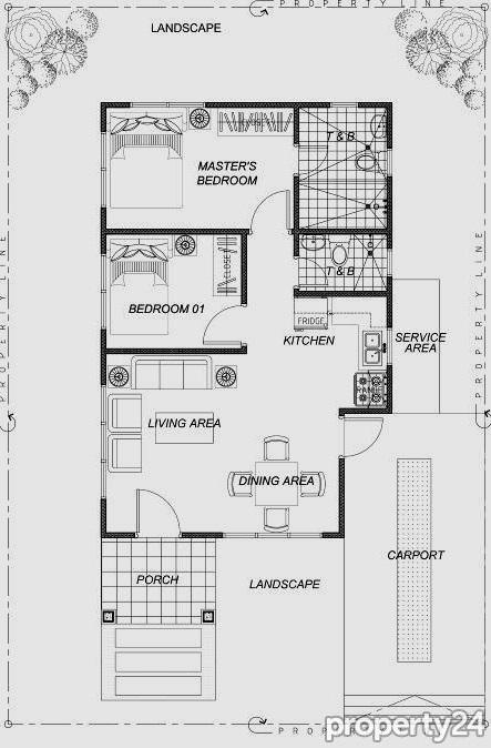 Contemporary House 2 bedroom 2 bathroom (2)