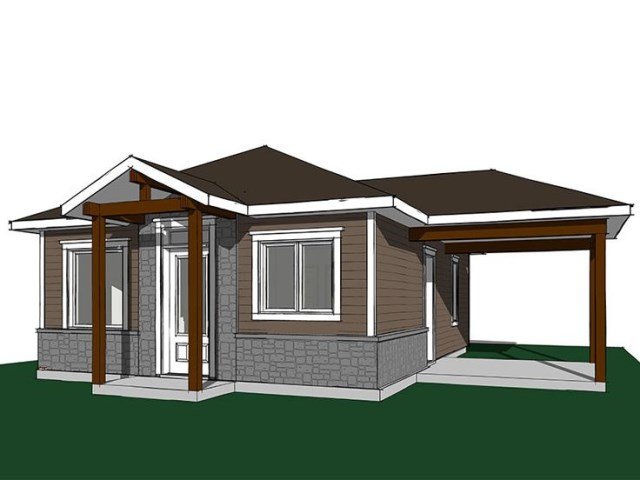 Contemporary House compact size 2 bedroom (2)