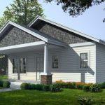 บ้านไม้ทรงหน้าจั่ว ขนาดเล็ก  2 ห้องนอน 2 ห้องน้ำ  ตกแต่งเรียบง่ายในโทนสีขาว พร้อมกลิ่นอายสไตล์วินเทจ
