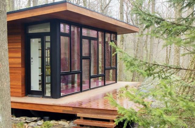Cottage cabin studio hillside (3)