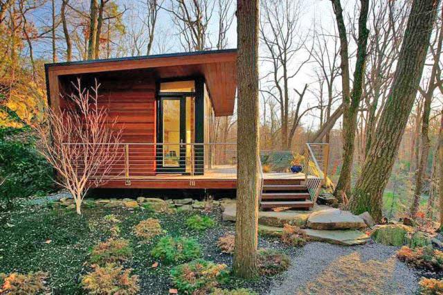 Cottage cabin studio hillside (6)