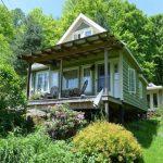 บ้านกระท่อมยกพื้นสูงพองาม 1 ห้องนอน 1 ห้องน้ำ มาพร้อมพื้นที่เฉลียง ท่ามกลางสวนป่า