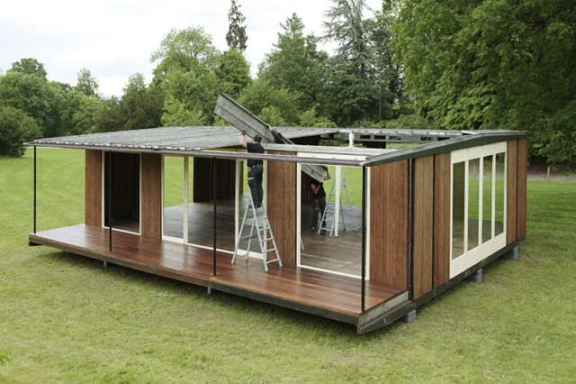 Modern cabins House Compact size (10)
