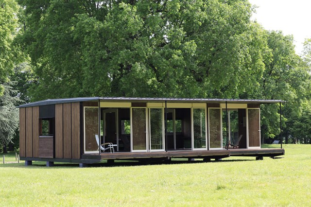 Modern cabins House Compact size (9)