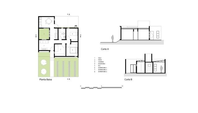 Modern home minimalist style with garden (9)