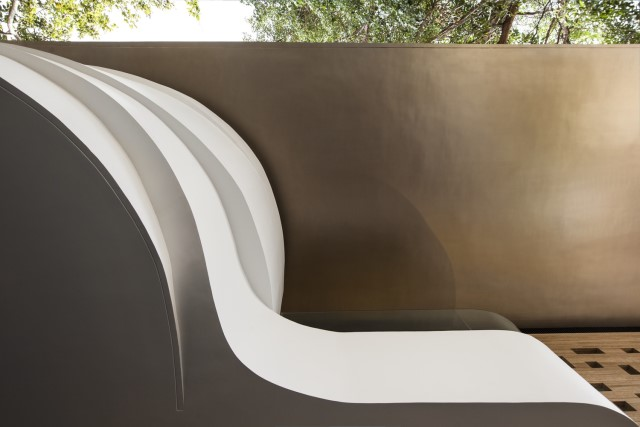 Modern house Beautiful shapes decorated with natural (4)