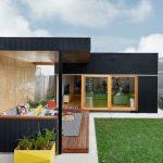 บ้านเดี่ยวสไตล์โมเดิร์น ขนาดเล็กๆกะทัดรัด ออกแบบบให้มีความโปร่ง โล่ง น่าอยู่
