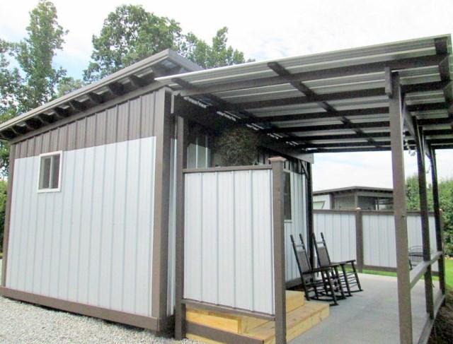 Modern house metalsheet design with 1 bedroom (13)