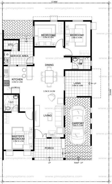 Modern house modern Shape3 bedroom 2 bathroom (1)