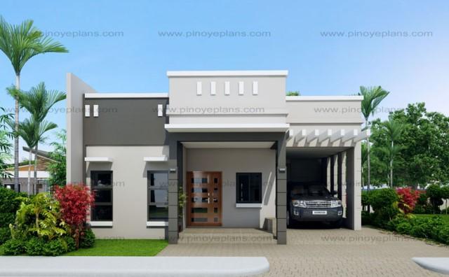 Modern house modern Shape3 bedroom 2 bathroom (3)
