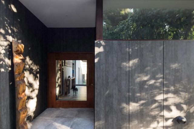 Modern house modern materials between nature (8)