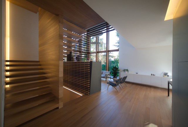 Modern house relaxation area nature nestling (15)