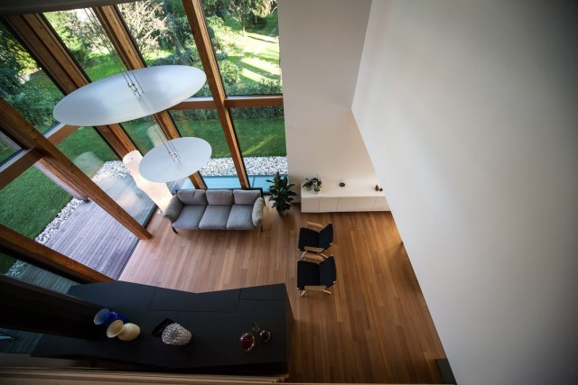 Modern house relaxation area nature nestling (16)
