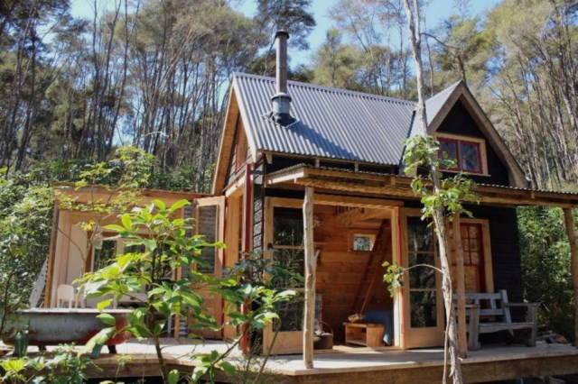 Small cottage house 1 bedroom with mezzanine (7)