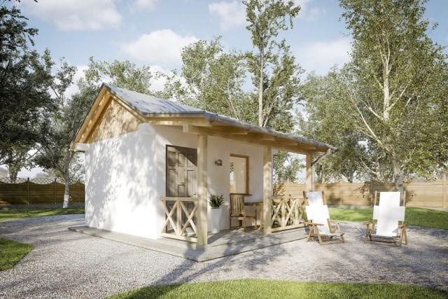 Small house application for a home garden (1)
