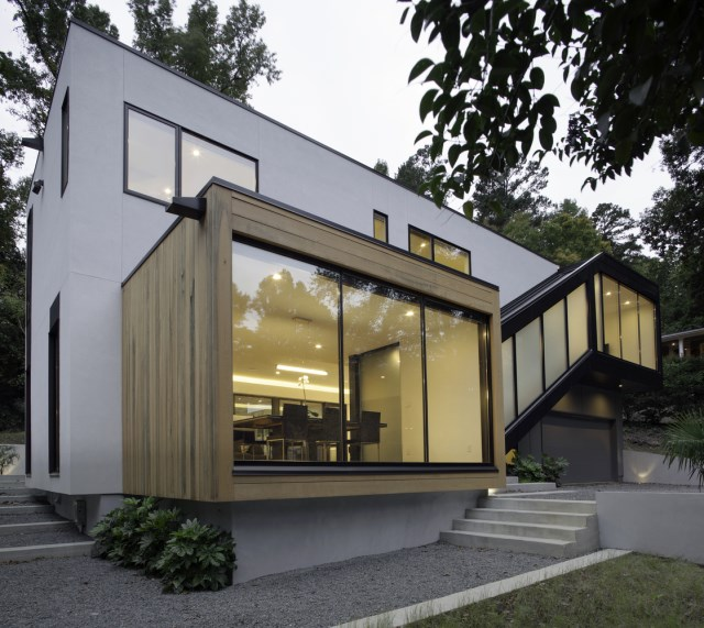 Two storey modern house 2 tone and relaxing vacation home (9)