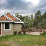 บ้านบังกะโลขนาดเล็ก 1 ห้องนอน 1 ห้องน้ำ พร้อมชั้นใต้หลังคา เหมาะกับบ้านสวน บ้านตากอากาศ