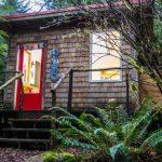 บ้านตากอากาศขนาดเล็ก สไตล์โมเดิร์นเคบิน 1 ห้องนอนแบบสตูดิโอ