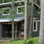 บ้านสวนสไตล์เคบิน ออกแบบในหลังคาเพิงฯ ขนาดเล็ก เหมาะกับครอบครัวแรกเริ่ม