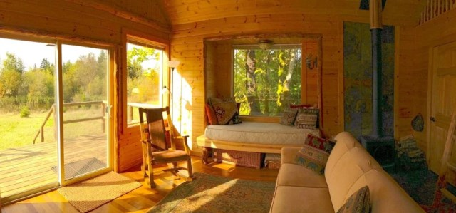 compact cabin cottage platform house (4)