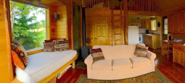 compact cabin cottage platform house (6)