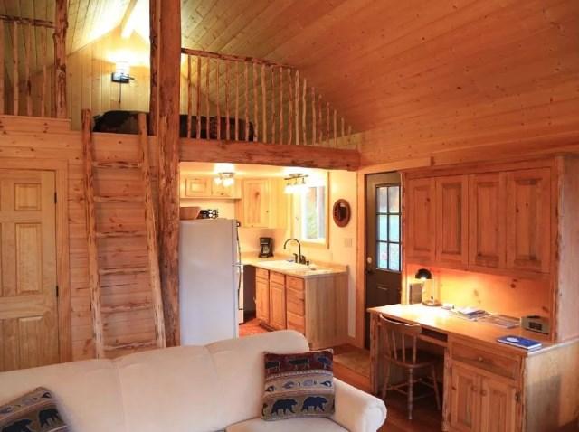 compact cabin cottage platform house (8)
