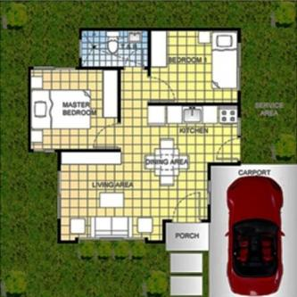 contemporary home simplicity 2 bedrooms (1)