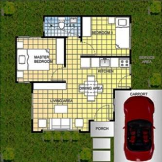contemporary home simplicity 2 bedrooms (1)