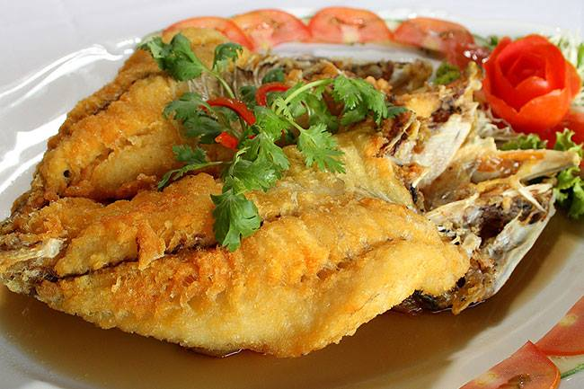 fried fish with fish sauce recipe