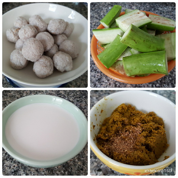 green curry fish ball with salted egg recipe (2)