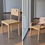 """พาไปชม เก้าอี้สไตล์มินิมอล """"โอวัน & โอทู""""  เรียบร้อย แต่…พูดมาก"""