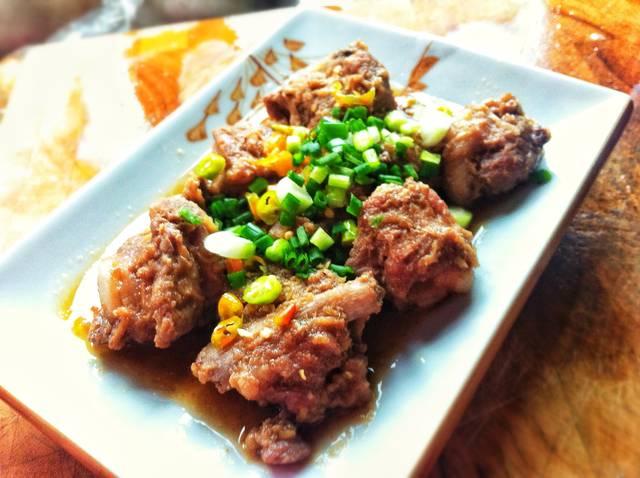 pork ribs with shrimp paste recipe (1)