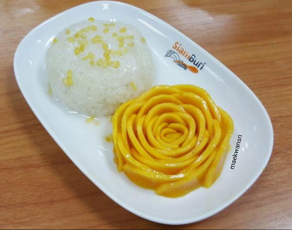 rose mango with sticky rice (5)