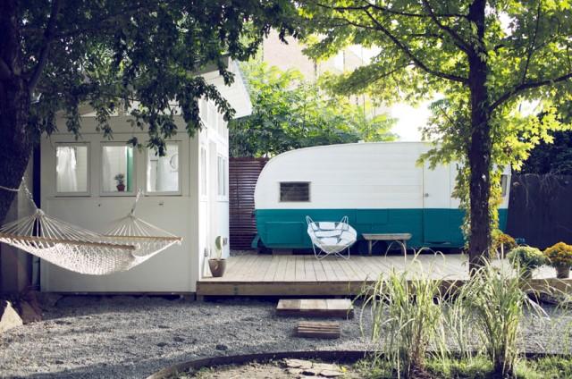 studio Small house large patio (2)