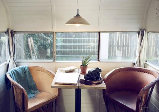 studio Small house large patio (4)