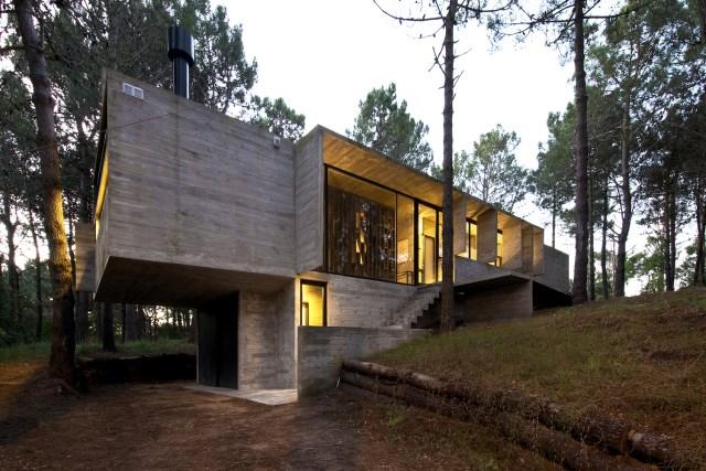 villa house Modern style on the hill (1)