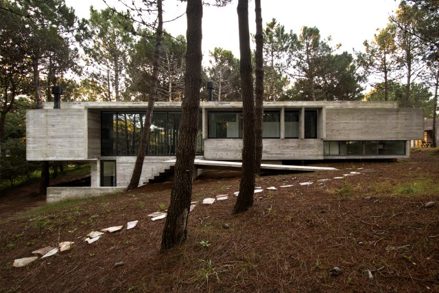 villa house Modern style on the hill (19)