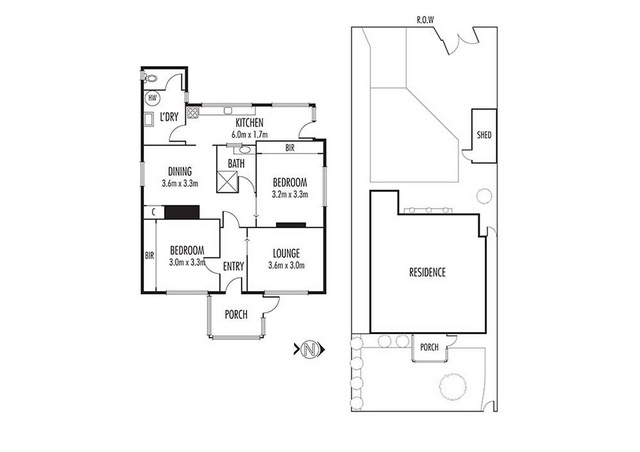 white classic 2 bedroom house (18)