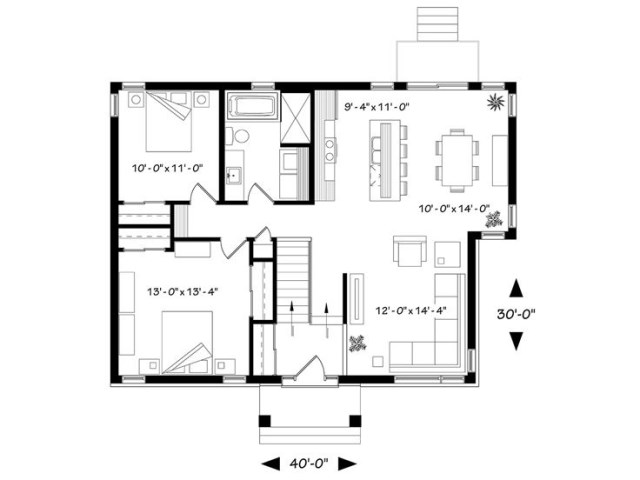 woodden Contemporary House (2)