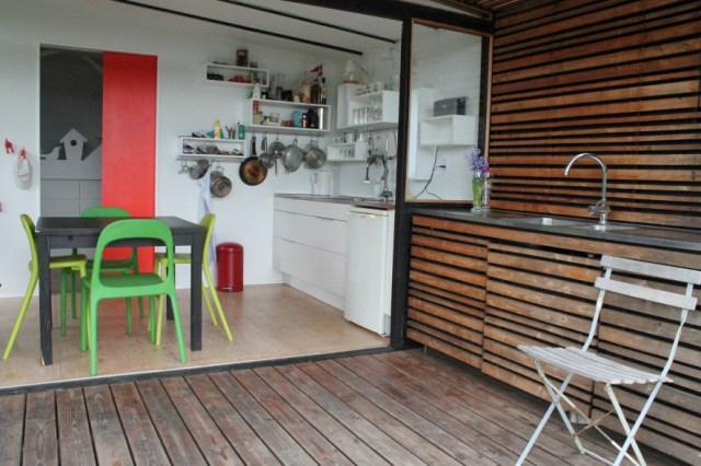 wooden Garden house cabin style (1)